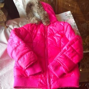 Justice Jackets & Coats - Justice Girls Winter Coat Hot Pink Size 8/10
